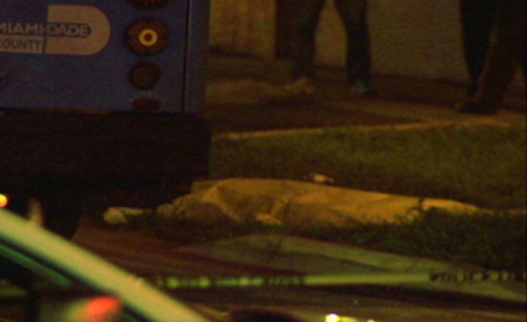 Hombre en bicicleta muere atropellado por un autobús en Hialeah