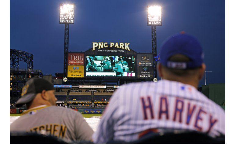 Pospuesto por lluvia, el juego Mets-Piratas