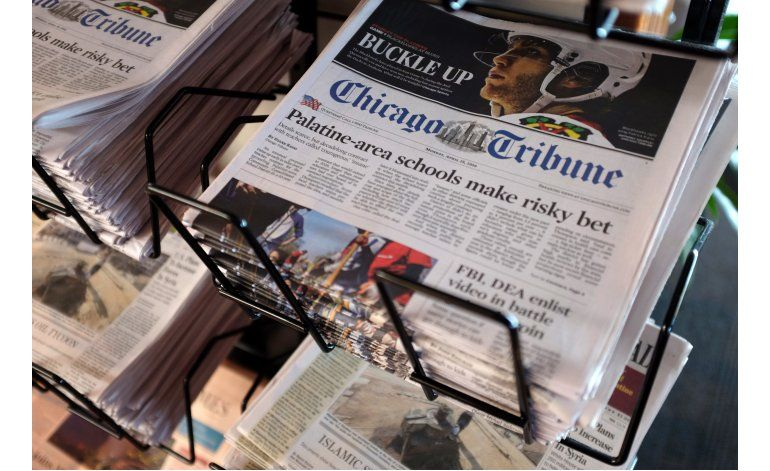 Gannett sigue tratando de adquirir Tribune Publishing