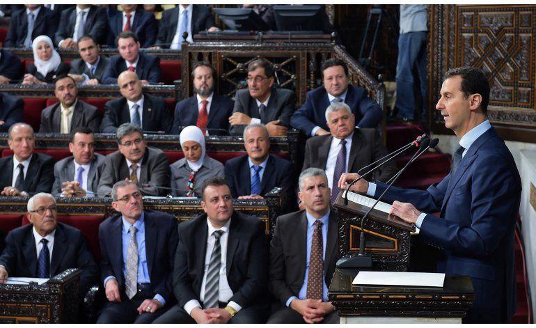 Assad promete liberar cada centímetro de Siria