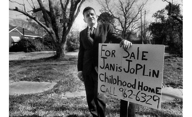 A la venta casa de la infancia de Janis Joplin