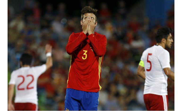 España pierde ante Georgia en último fogueo antes de Euro