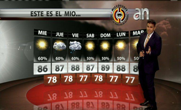 El pronostico del Tiempo con Javier Serrano