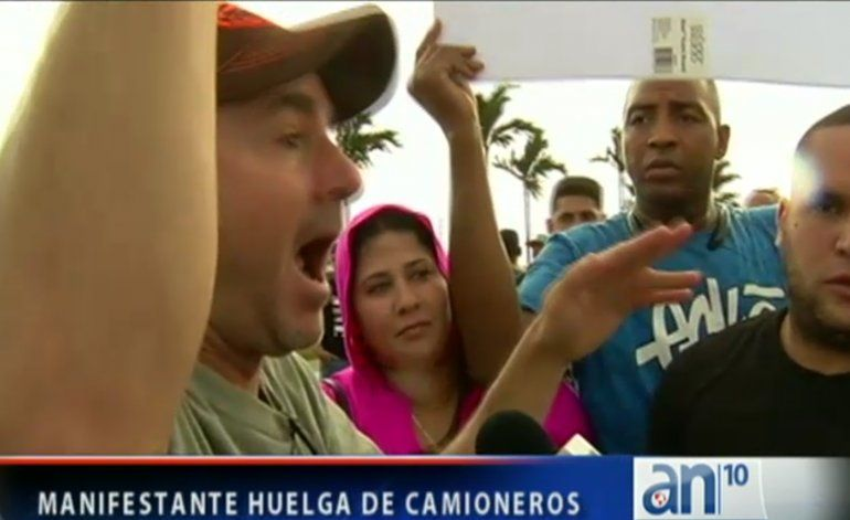 Huelga de camioneros en Miami paraliza el tráfico