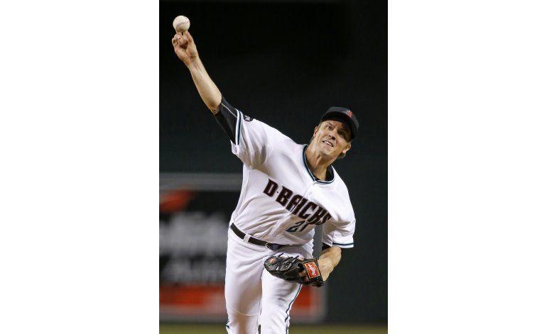 Greinke lanza pelota de 3 hits; Diamondbacks ganan
