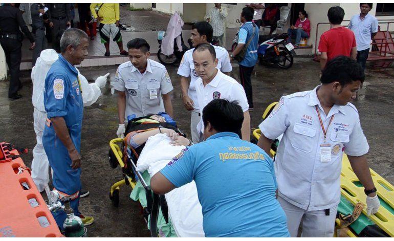 Choque de 2 lanchas turísticas en Tailandia deja 2 muertos