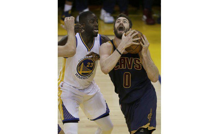Love se pierde tercer partido de la final de la NBA