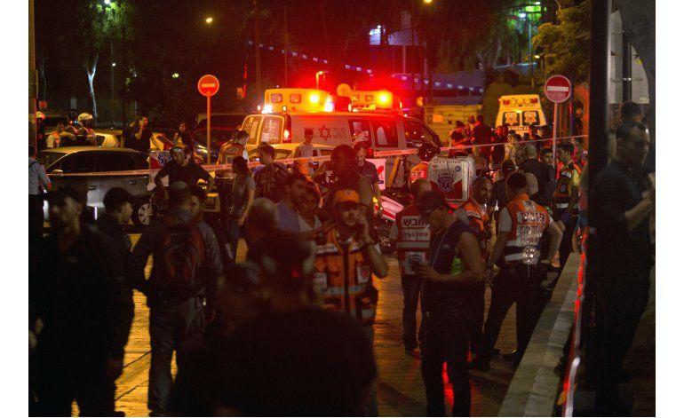 Atacantes palestinos matan a tiros a 4 personas en Tel Aviv