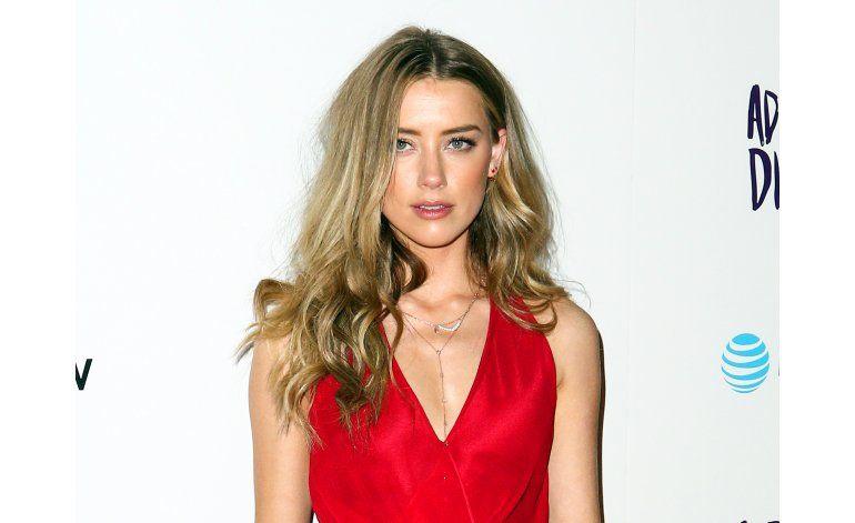 Exnovia defiende a Amber Heard