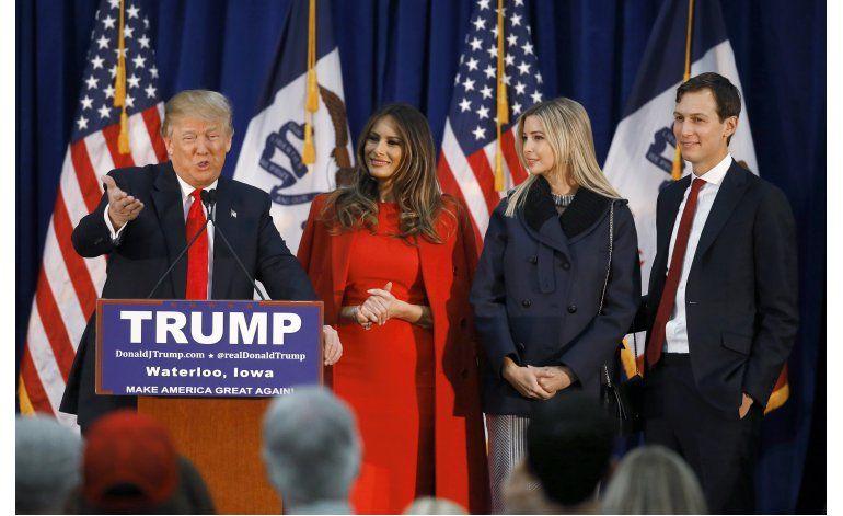 Yerno de Trump asume papel prominente en su campaña