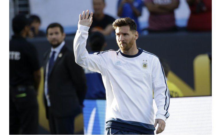Argentina contará con Messi para duelo con Panamá el viernes