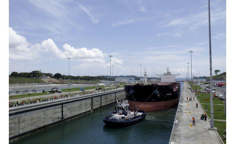 Panamá: Primera prueba real en canal ampliado sin incidentes