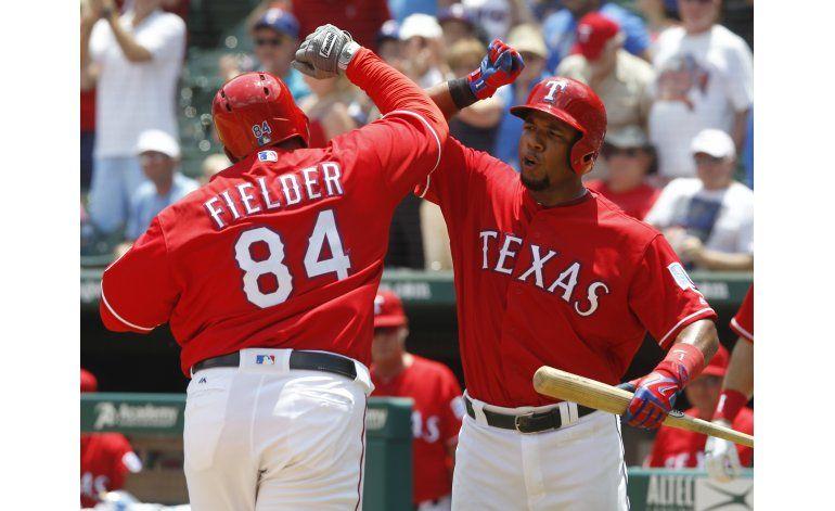 Fielder da jonrón en triunfo de Rangers sobre Astros