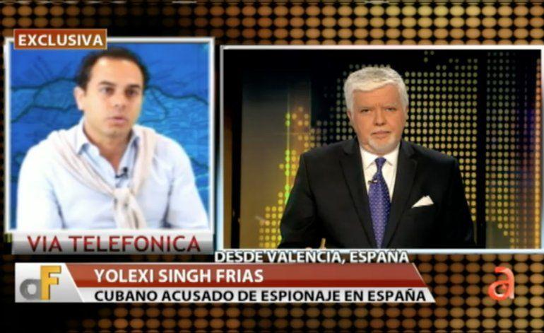 [Exclusiva] Entrevista con Yolexi Singh Frías,  cubano acusado de espía del régimen castrista en España