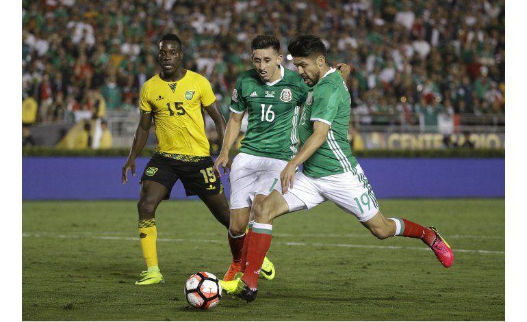 México vence a Jamaica y avanza a la segunda ronda