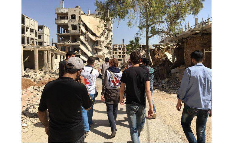 Daraya, en Siria, recibe comida tras años de asedio