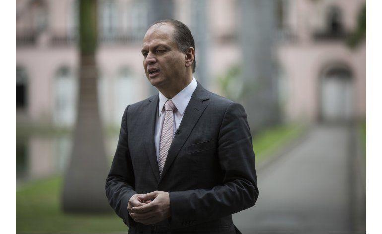 Ministro de salud: Zika no es riesgo para Juegos Olímpicos