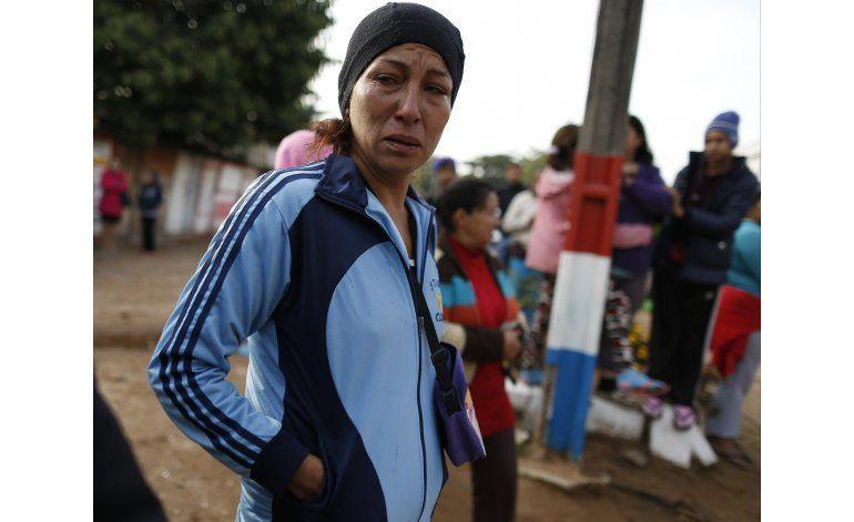 Seis muertos en incendio en principal cárcel de Paraguay