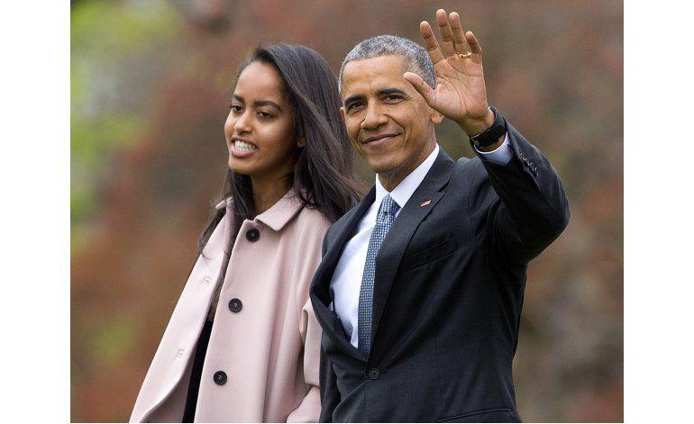 Obama marca un hito con la graduación de su hija Malia