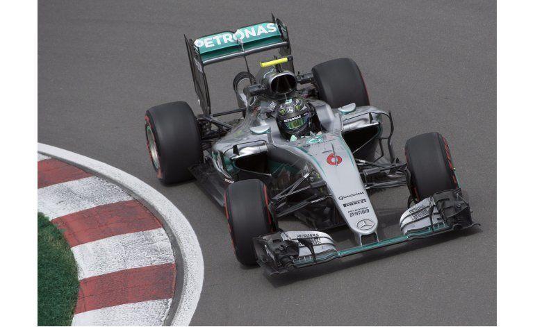 Hamilton domina prácticas del GP de Canadá