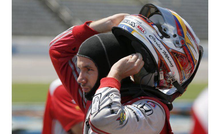 Muñoz obtiene la pole por 1ra vez en su carrera