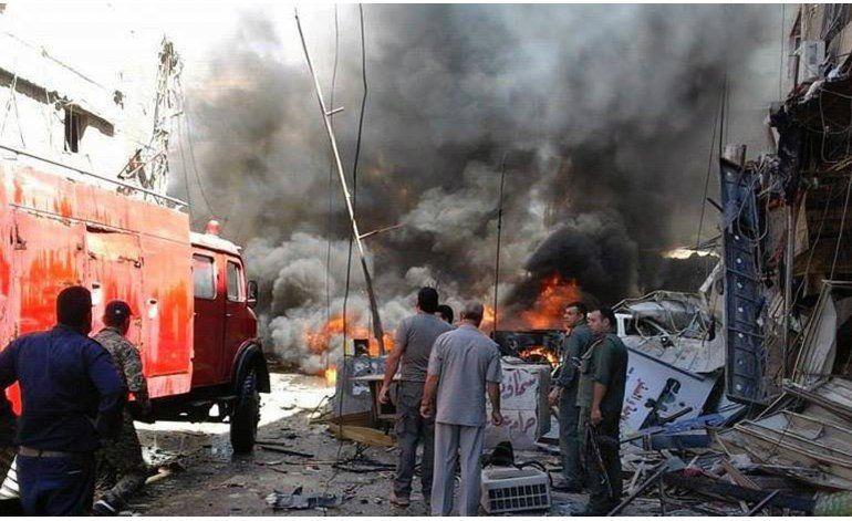 Coches bomba cerca de Damasco dejan 12 muertos