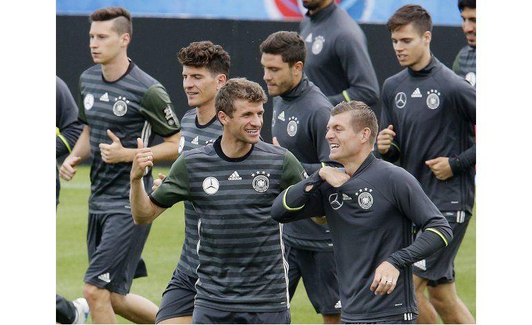 Por la 4ta estrella europea, Alemania arranca ante Ucrania