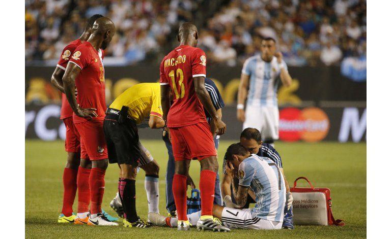 Di María se lesiona y peligra su participación en Copa