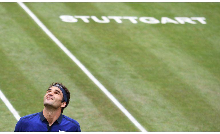 Federer y Del Potro caen en semifinales en Stuttgart