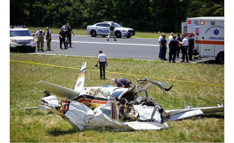 2 muertos, 2 lesionados al estrellarse avioneta en Tennesse