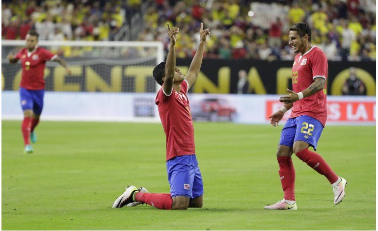Costa Rica zancadillea a Colombia, relegada a 2da de grupo