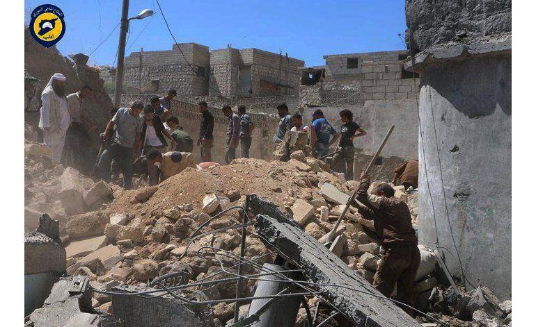 Ataques aéreos en Siria matan a 27 personas
