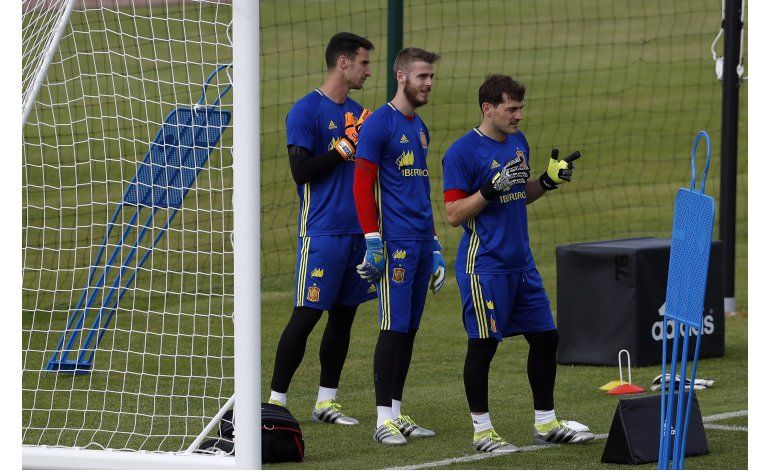 De Gea desplaza a Casillas en el arco de España