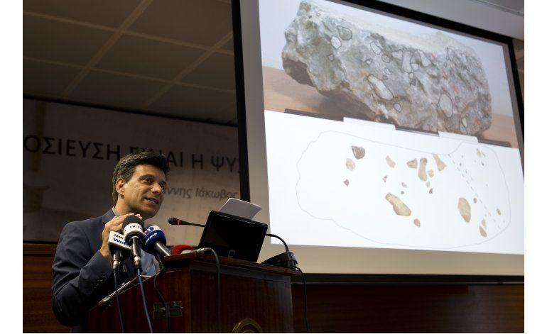 Grecia: Arqueólogo dice que halló trono micénico