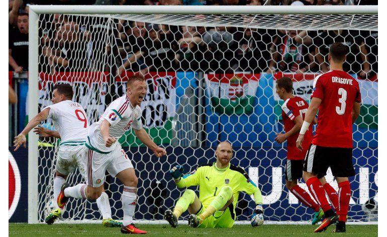 Euro: Hungría despacha 2-0 a una decepcionante Austria