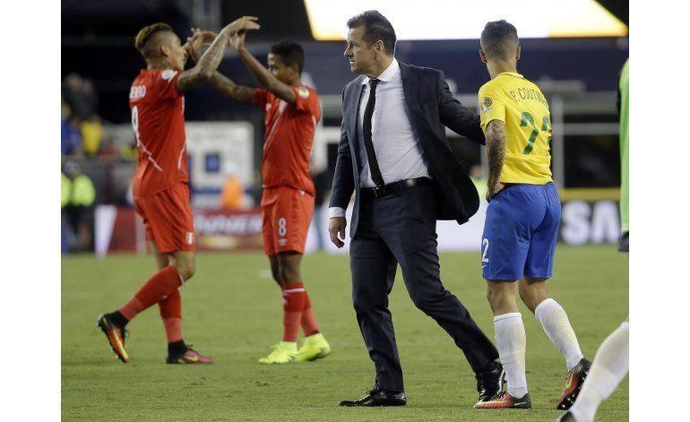 Brasil despide a Dunga como técnico de la selección