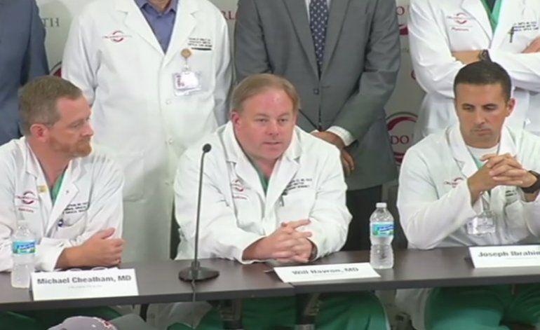 Equipo de 8 cirujanos de hospital de Orlando estuvo a cargo de salvar la vida a decenas de heridos de la masacre