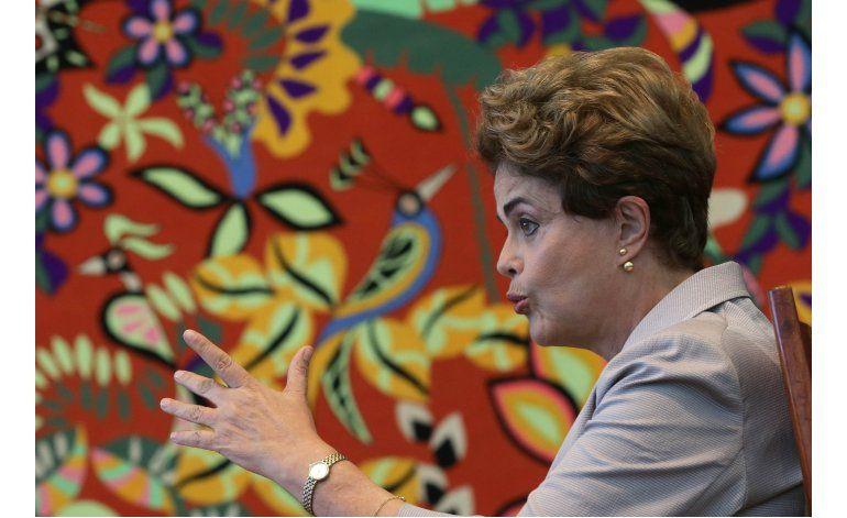Rousseff dice estar a favor de nuevas elecciones