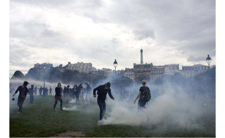 Francia: Violencia contra hospital es intolerable