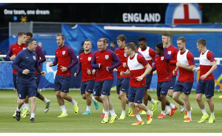 Euro: Inglaterra atenta a Gales y la conducta de sus hinchas