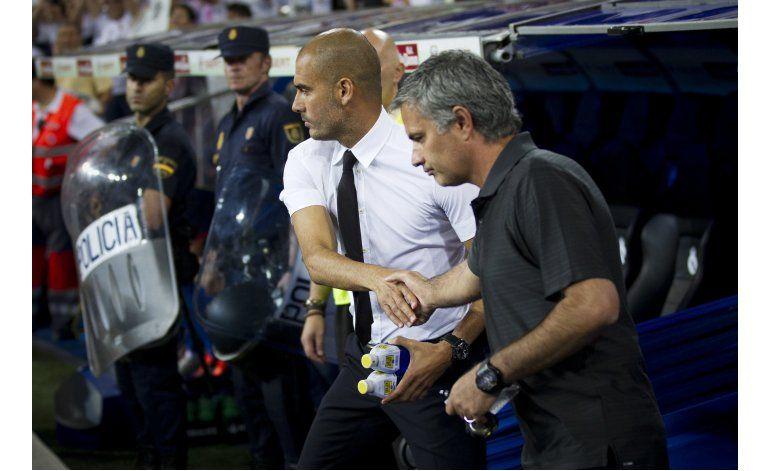 Mourinho-Guardiola chocan en la Premier el 10 de septiembre
