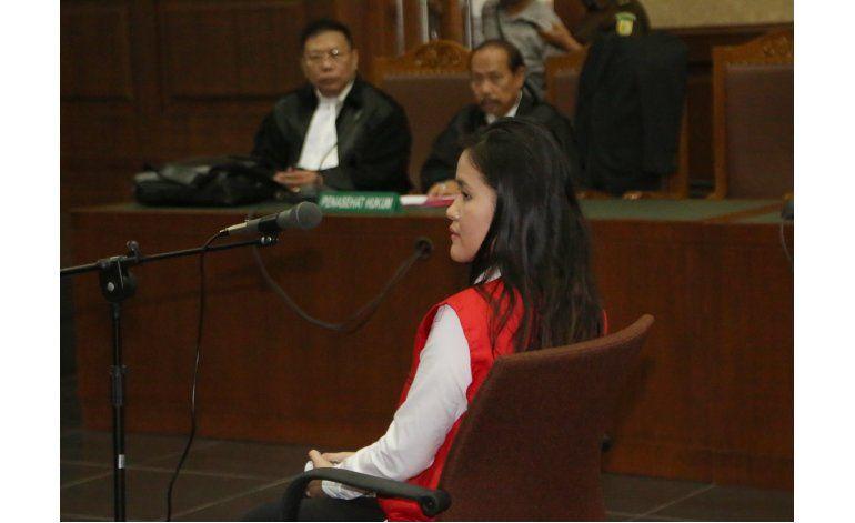 Mujer indonesia acusada de envenenar a su amiga con cianuro