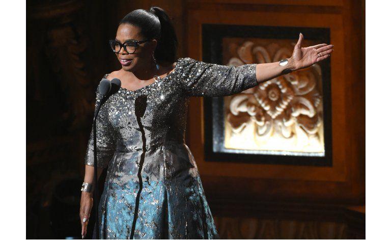 Oprah Winfrey publicará su 1er libro de cocina en 2017