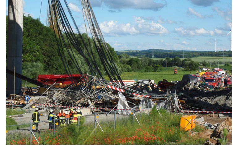 Un muerto por derrumbe de puente de Alemania