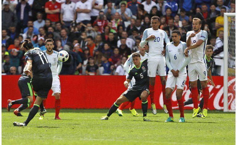 Euro: Inglaterra remonta para vencer 2-1 a Gales