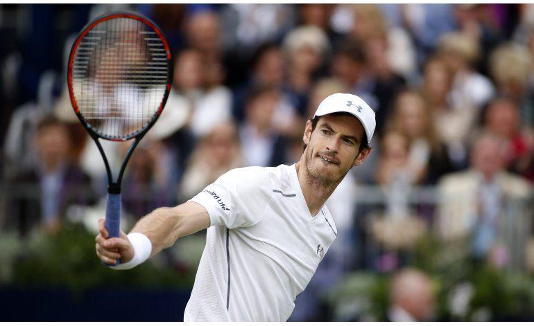 Murray llega a cuartos de final en Queens Club; Isner fuera