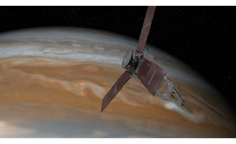 Nave de la NASA llegará a Júpiter el 4 de julio
