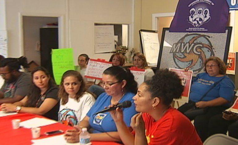Trabajadoras del hogar exigen derechos laborales