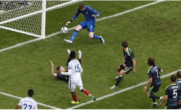 Inglaterra remonta, Alemania en cero y Ucrania fuera