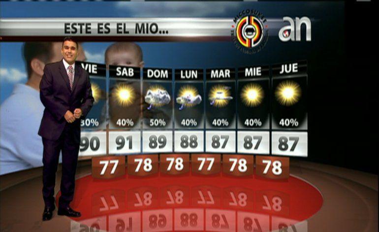 El pronóstico del tiempo con Javier Serrano